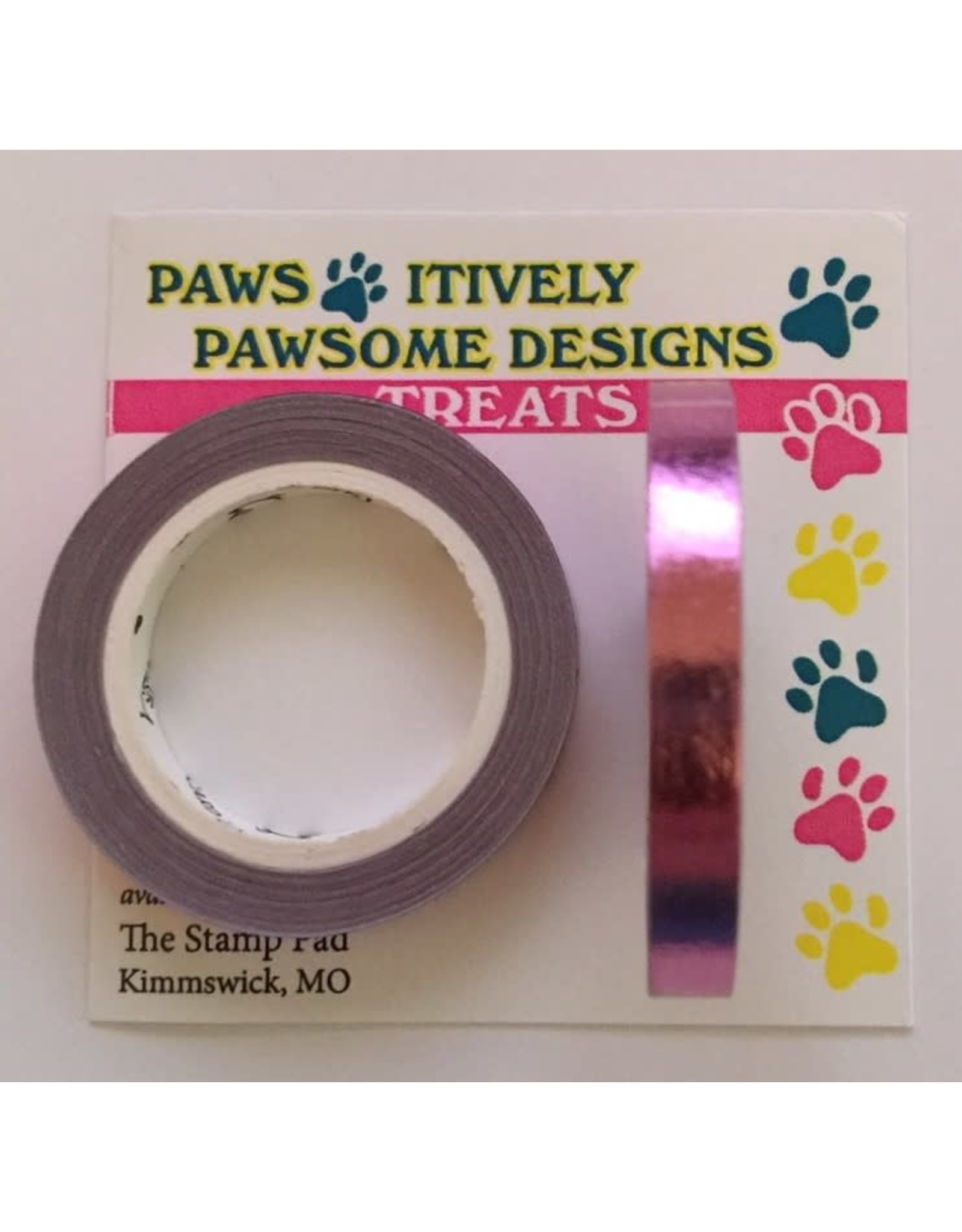 Paws-Itively Pawsome Designs Metallic Tape - Orchid Foil