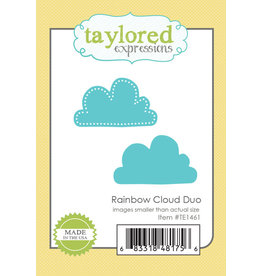 Taylored Expressions Rainbow Cloud Duo