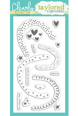 Taylored Expressions Over the Rainbow Clear Stamp Set