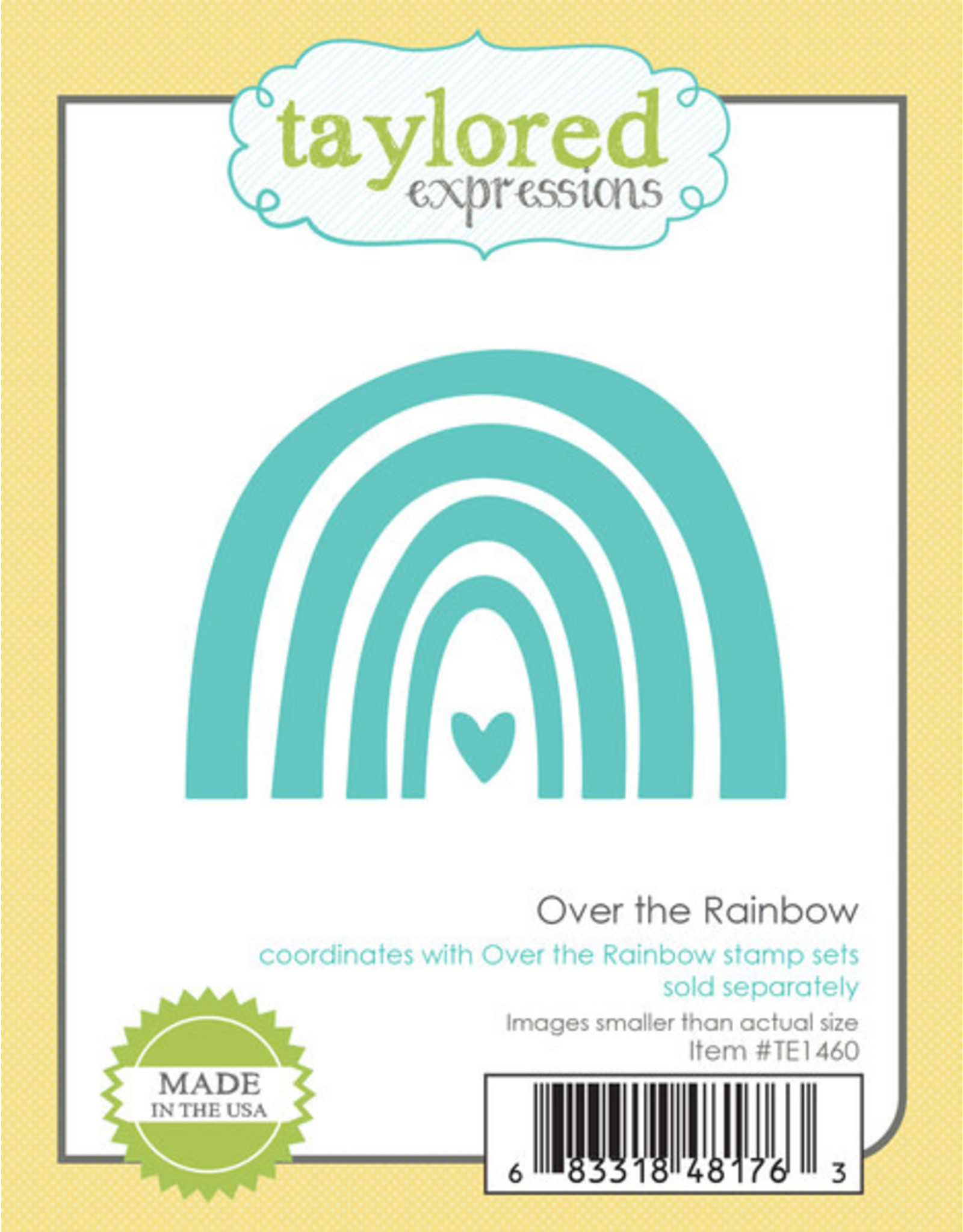 Over the Rainbow Clear Stamp Set