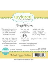 Taylored Expressions The Inside Scoop - Wedding Stamp Set