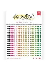 Honey Bee Stamps Gem Stickers - Hot Tropics