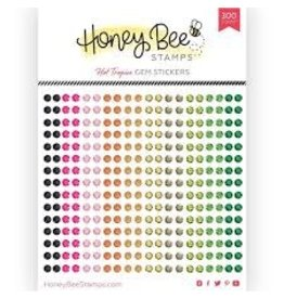 Honey Bee Stamps Gem Stickers - Hot Tropics