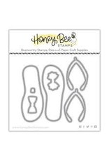 Honey Bee Stamps Flip Flop Builder Die Set