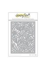 Honey Bee Stamps Palm Frond Cover Plate Die