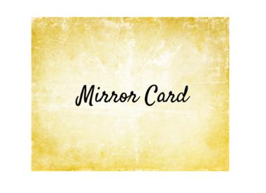 Mirror Card