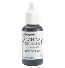 Ranger Archival Ink Re-Inker - Jet Black