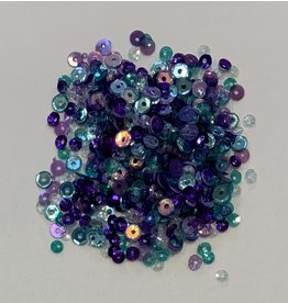 Paws-Itively Pawsome Designs 3&4mm Sequins Mix - Mermaid Tail