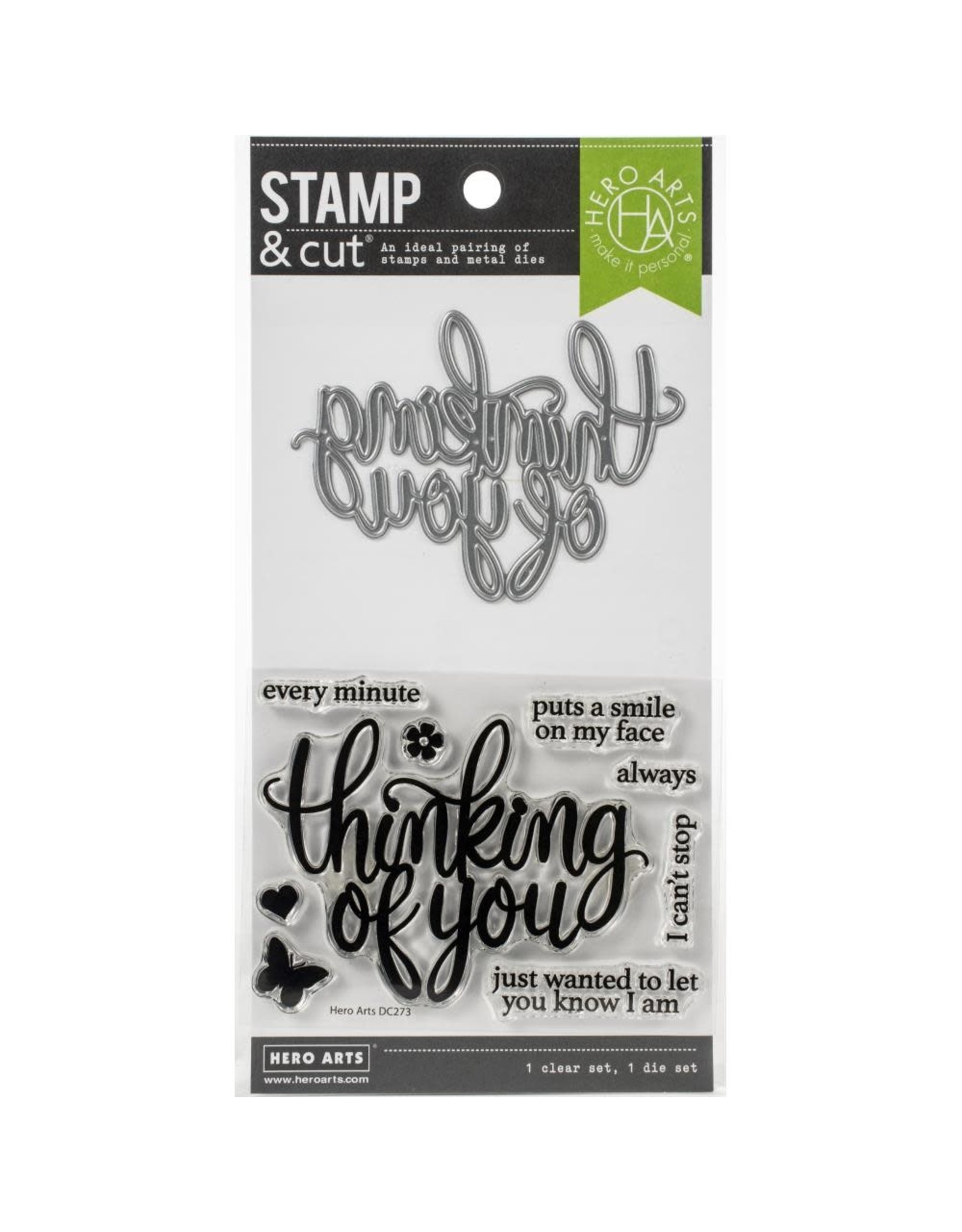 Hero Arts Thinking of You Stamp & Cut