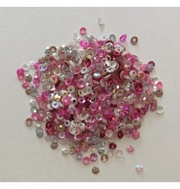 Paws-Itively Pawsome Designs 3mm Sequins Mix - Princess Pink
