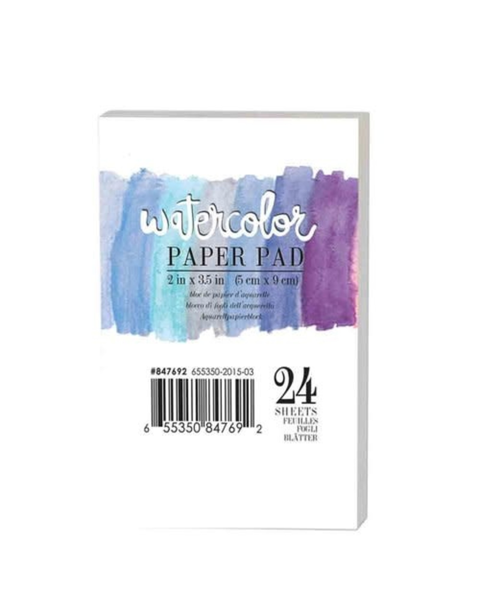 Watercolor Paper Pad - 2 x 3.5