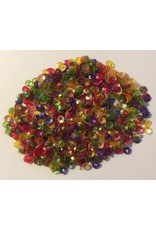 Paws-Itively Pawsome Designs Cupped Sequins (3mm) - Autumn Mix (+/- 600) 40% Clearance