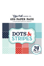 Echo Park Dots & Stripes - Winter 6x6 Paper Pad