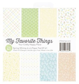 My Favorite Things MFT Spring Whimsy 6x6 Paper Pad
