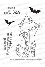 Newton's Nook Witchy Newton Clear Stamp Set
