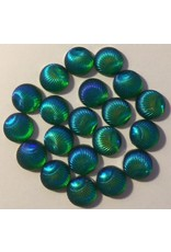 Paws-Itively Pawsome Designs Iridescent Shells 10mm-Mermaid