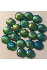 Paws-Itively Pawsome Designs Iridescent Shells 10mm-Olive