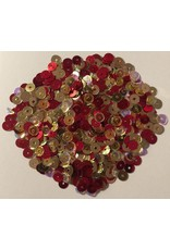 Paws-Itively Pawsome Designs 5mm Sequins Mix - Royal Elegance-Red