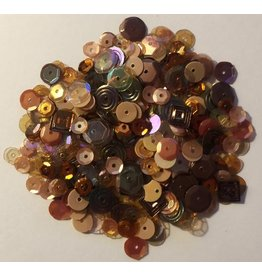 Paws-Itively Pawsome Designs Sequins Mix - Brown