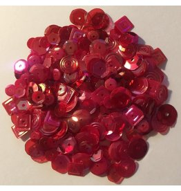 Paws-Itively Pawsome Designs Sequins Mix - Red
