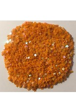 Paws-Itively Pawsome Designs Shaker Confetti - Mini Stars - Orange AB