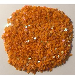 Paws-Itively Pawsome Designs Shaker Confetti - Mini Stars - Orange AB