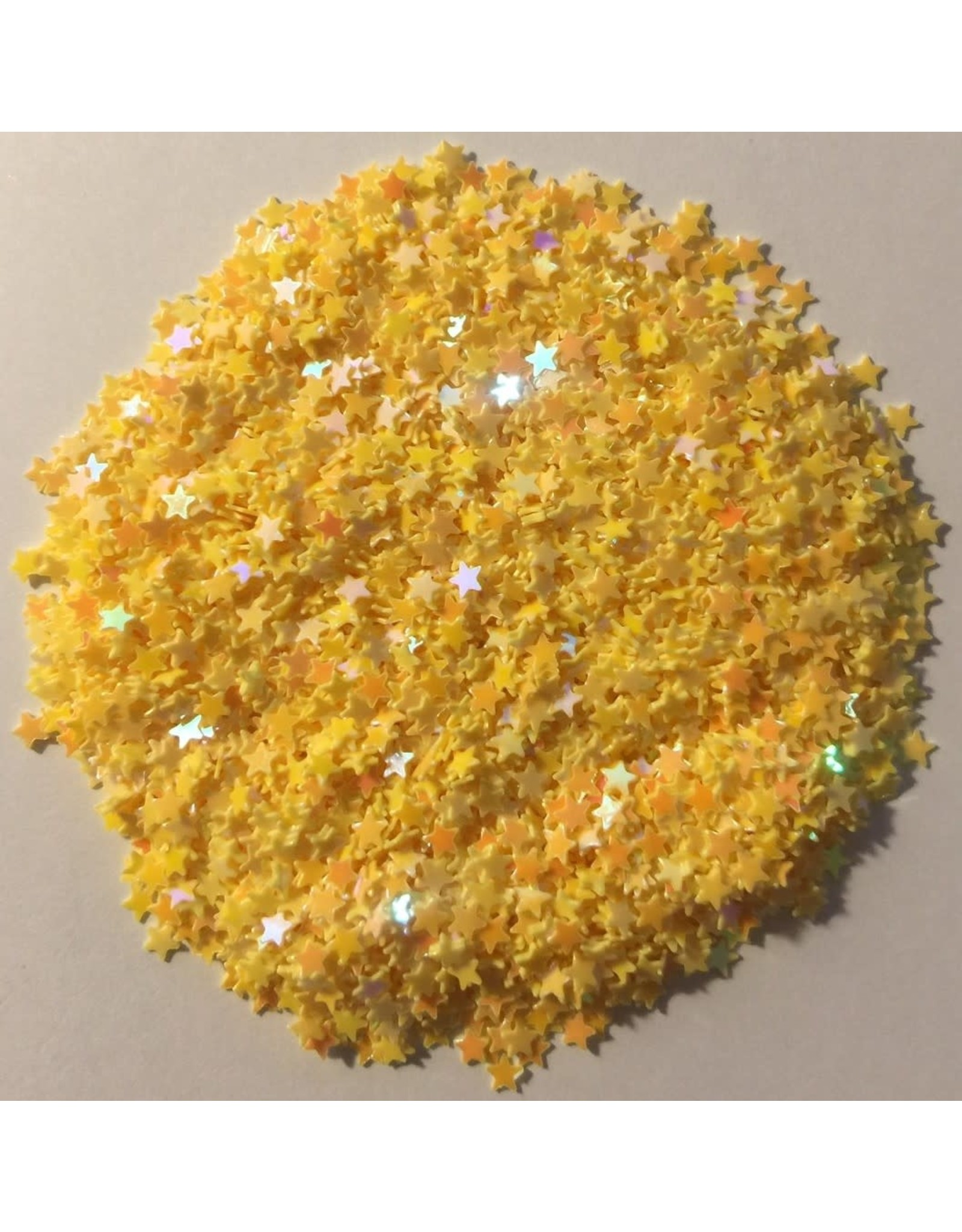 Paws-Itively Pawsome Designs Shaker Confetti - Mini Stars - Yellow AB