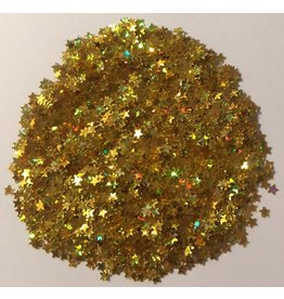 Paws-Itively Pawsome Designs Shaker Confetti - Mini Stars - Gold AB