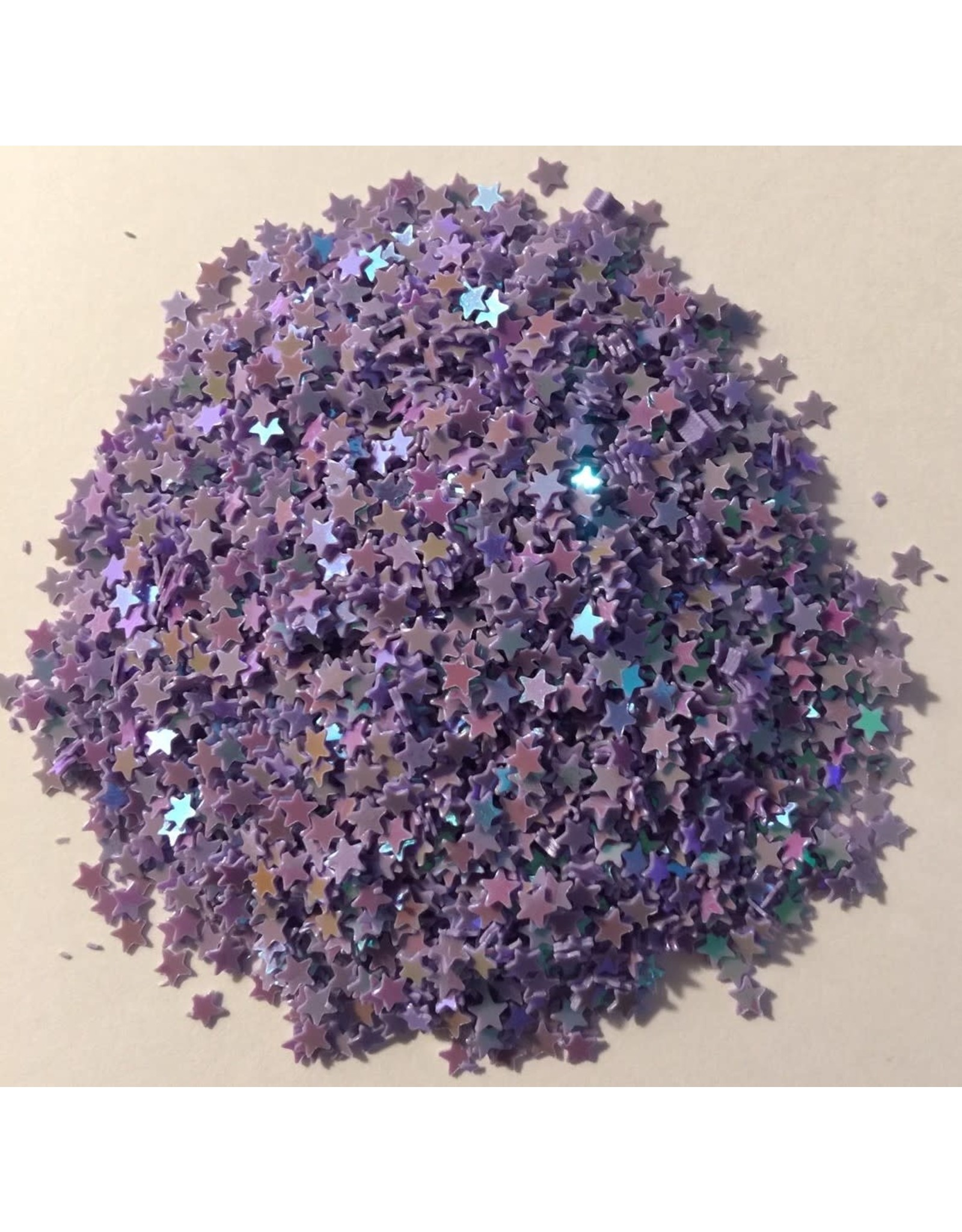 Paws-Itively Pawsome Designs Shaker Confetti - Mini Stars - Grape AB