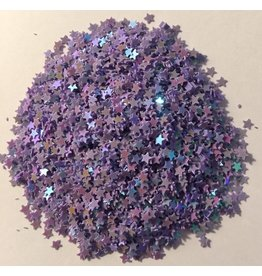 Paws-Itively Pawsome Designs Shaker Confetti - Mini Stars - Grape AB