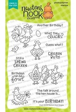 Newton's Nook Cluck Clear Stamp Set