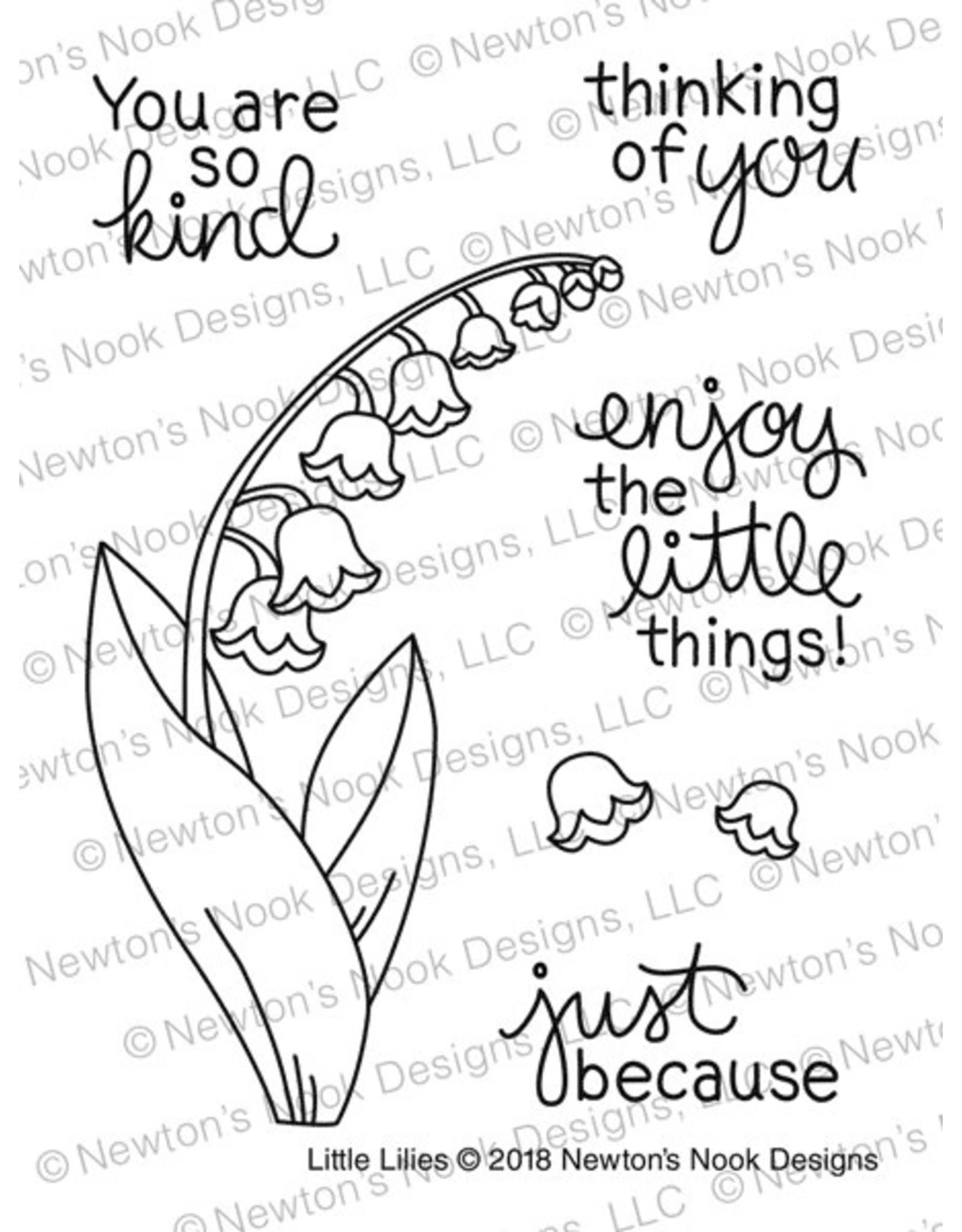 Newton's Nook Little Lilies Dies Set