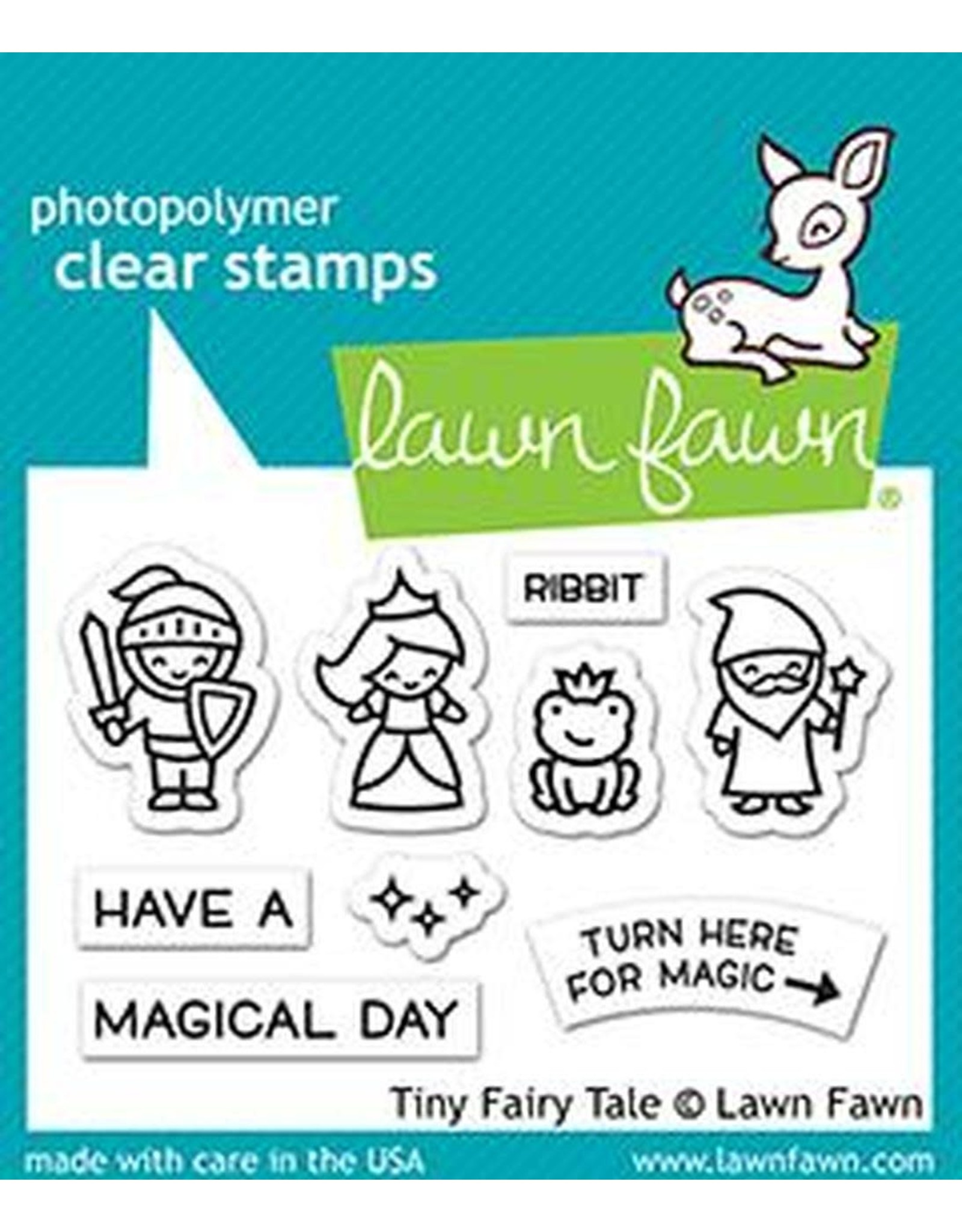 Lawn Fawn Tiny Fairy Tale Stamp Set