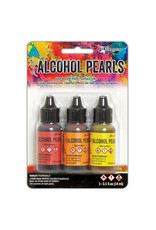 Ranger Alcohol Pearls - Kit #1 (Warm Colors)