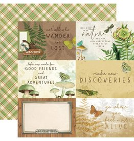 Simple Stories Simple Vintage Great Escape Collection - 4x6 Elements
