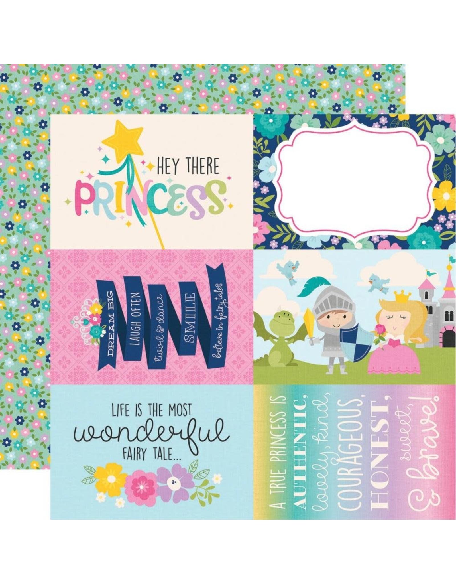 Simple Stories Little Princess Collection - 4x6 Elements 12x12