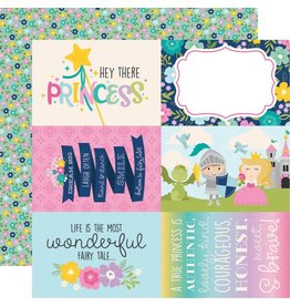 Simple Stories Little Princess Collection - 4x6 Elements 12x12