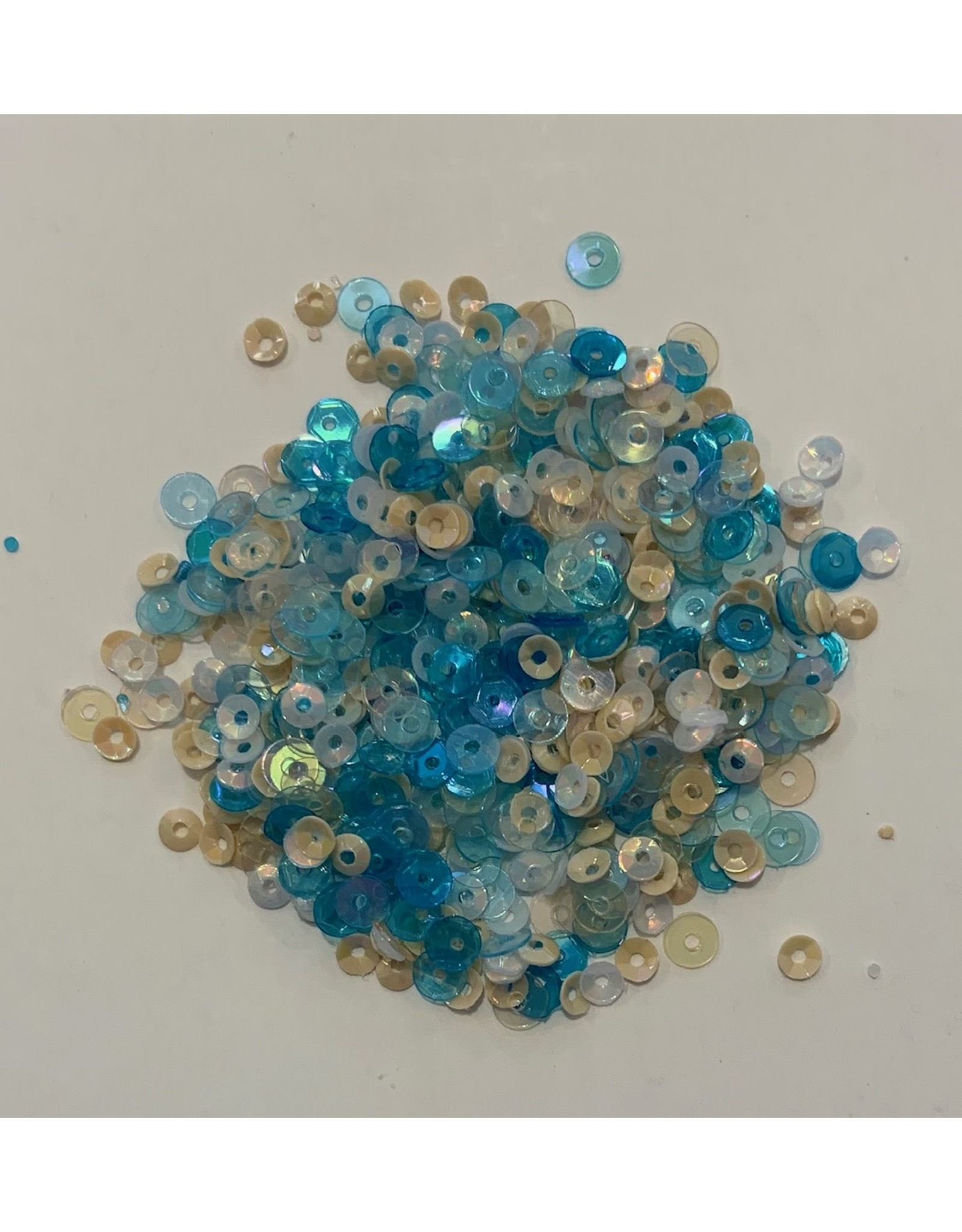 Paws-Itively Pawsome Designs 3&4mm Sequin Mix - Sandy Beach