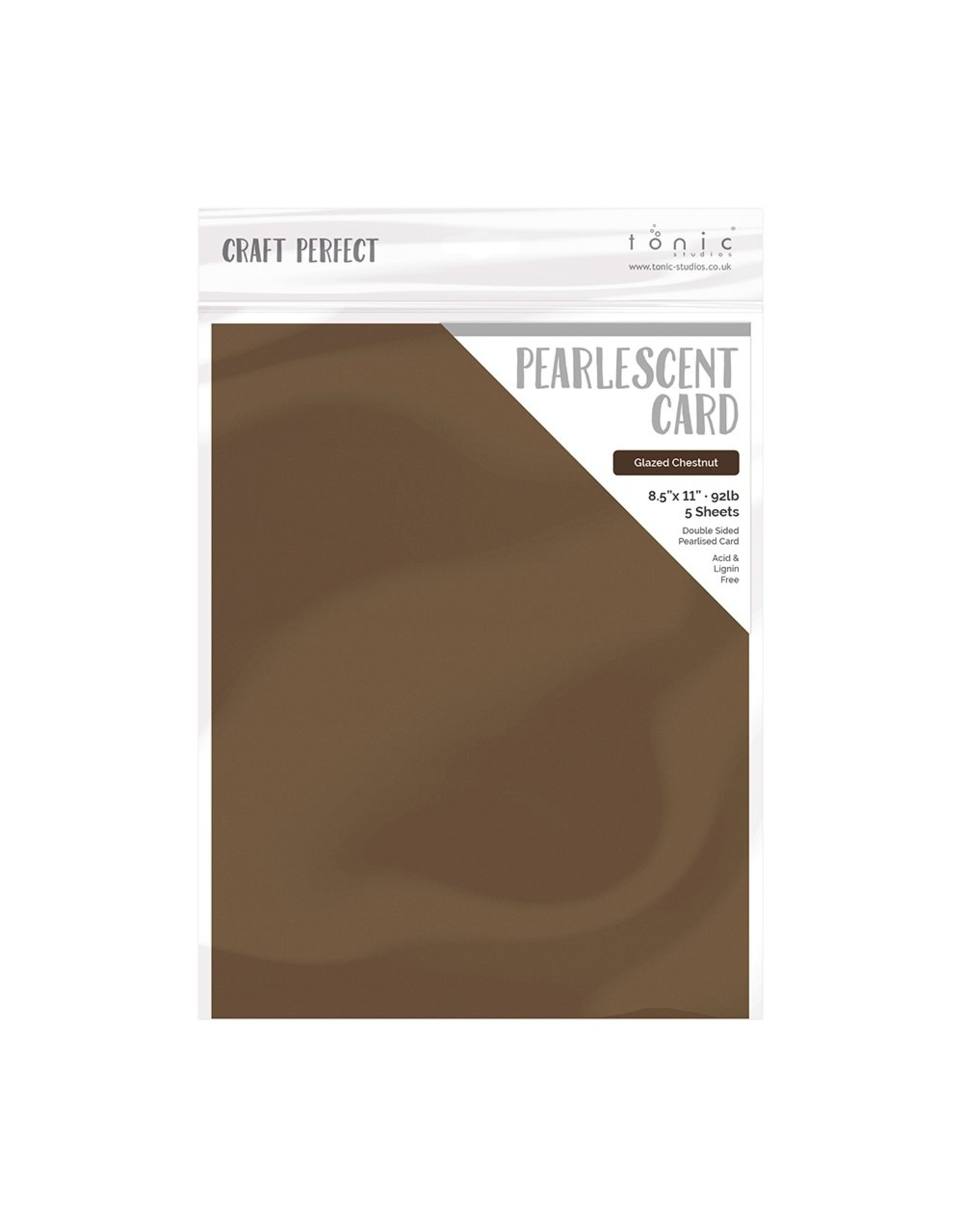 Craft Perfect Glazed Chestnut - Pearlescent