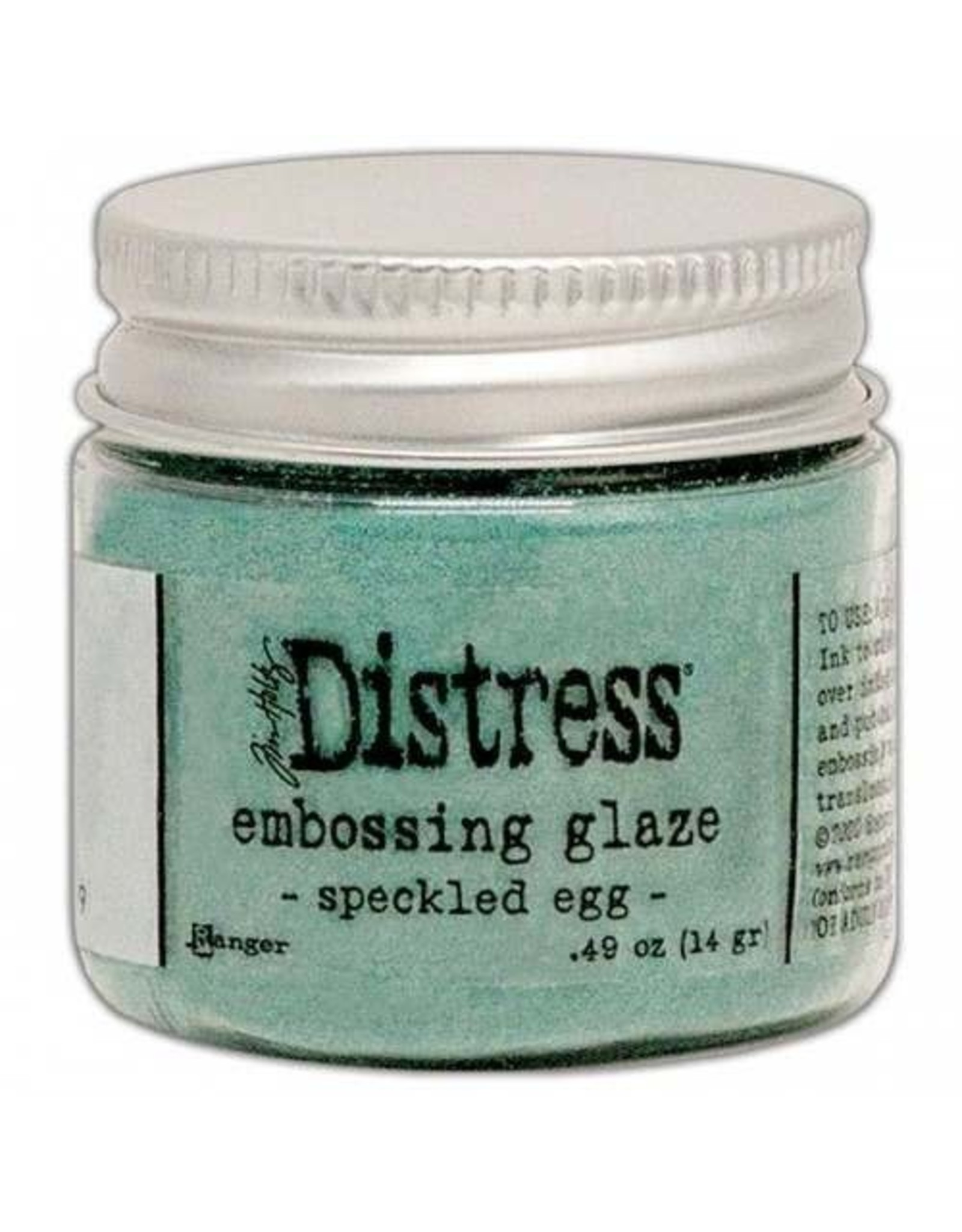 Ranger Distress Embossing Glaze - Speckled Egg