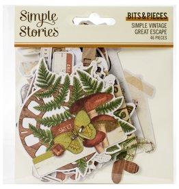 Simple Stories Simple Vintage Great Escape Ephemera