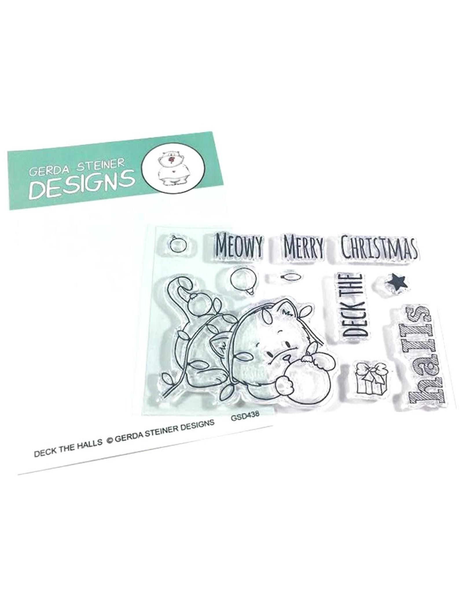 Gerda Steiner Designs Deck the Halls Clear Stamp Set