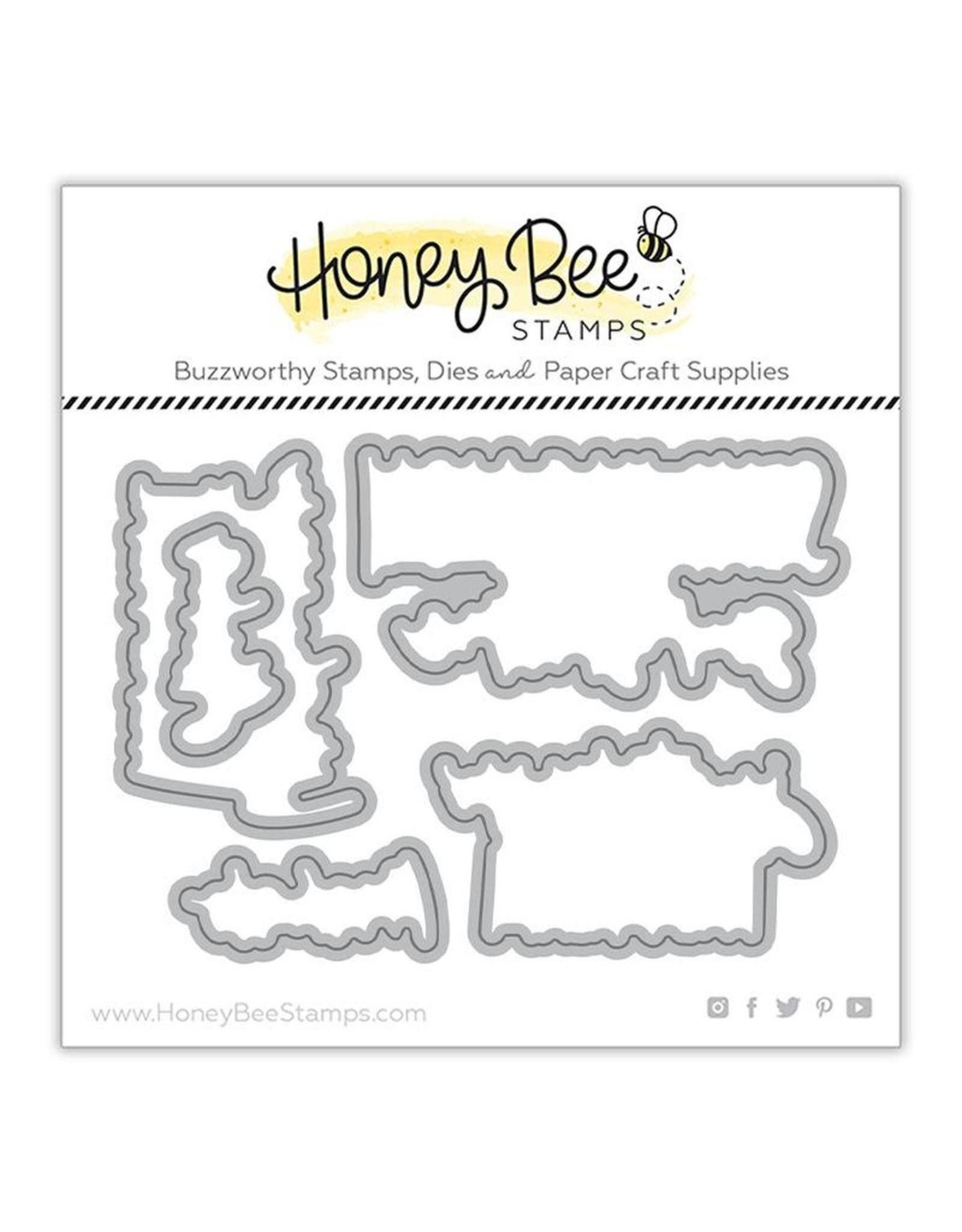 Honey Bee Stamps Wish You Were Here Die Set