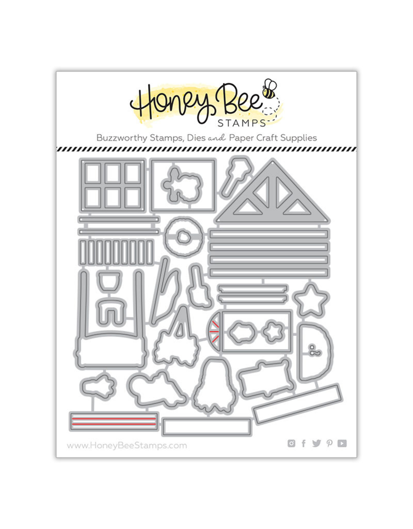 Honey Bee Stamps Honey Cuts - Farmhouse Add-On