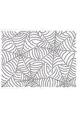 Frantic Stamper Inc Spider Web Stitched Background Die