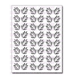 Frantic Stamper Inc Leafy Card Panel Die