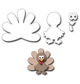 Frantic Stamper Inc Tom Turkey Die