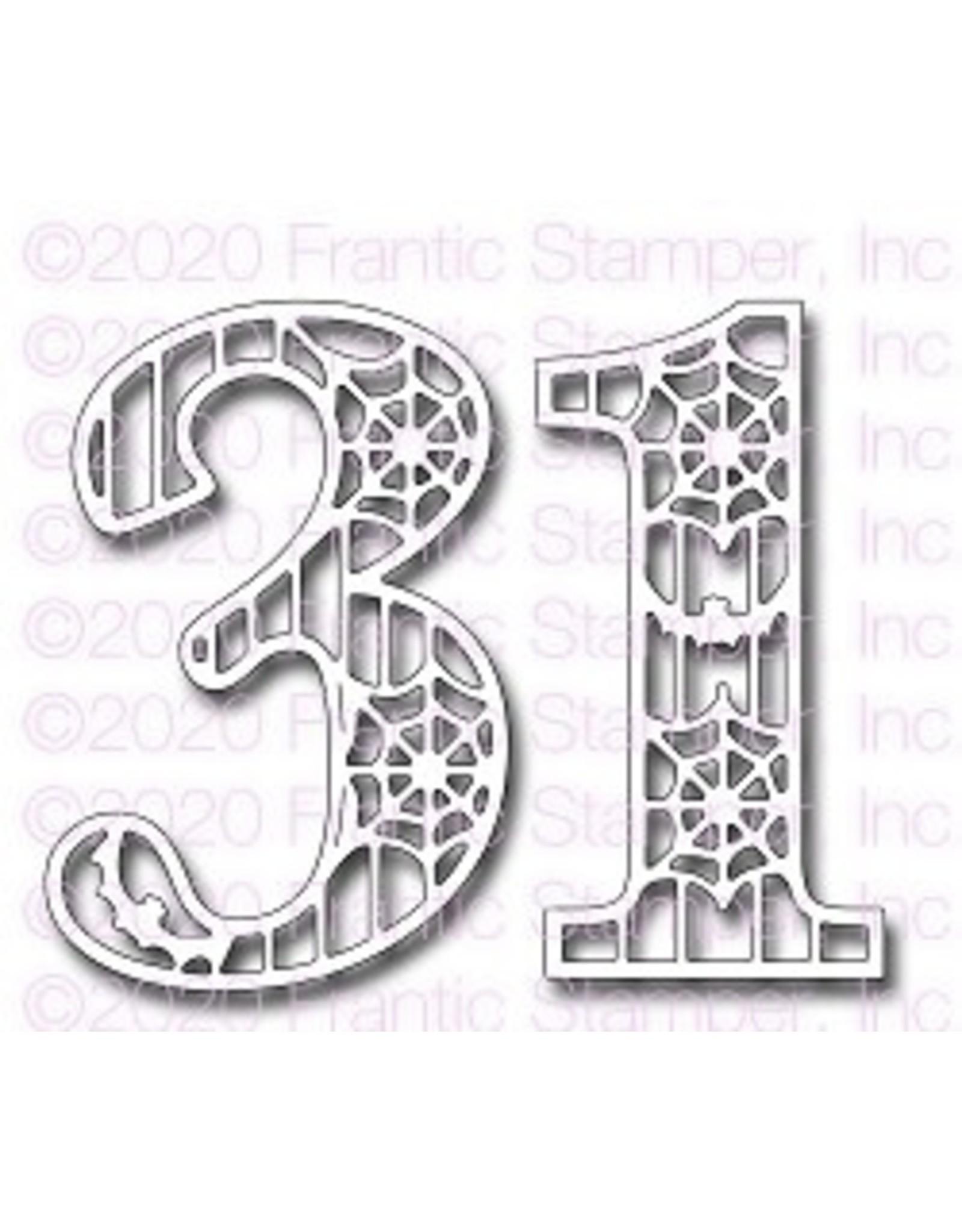 Frantic Stamper Inc Thirty-One Die