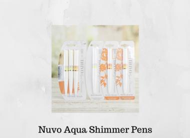 Nuvo Aqua Shimmer Pens