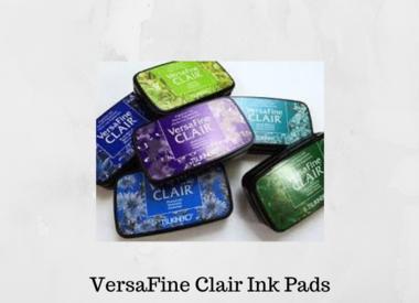 Versafine Clair Ink Pads